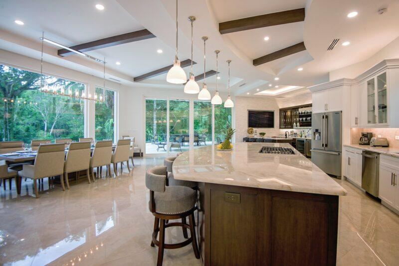 Dinning Area Luxury Home